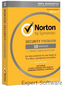 NORTON Security Premium 10 Stanowisk / 1Rok