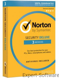 NORTON Security Deluxe 3 Stanowisk / 1 Rok