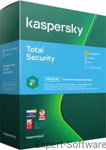 Kaspersky TOTAL Security 2021 3PC / 2Lata