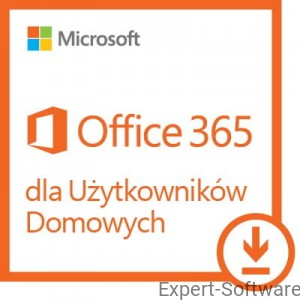 Microsoft Office 365 Home 5 Stanowisk PC/MAC /1Rok